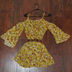 Yellow Altar'd State Dress